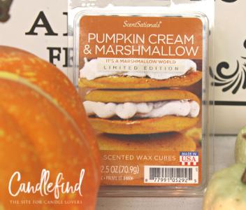 ScentSationals Pumpkin Cream & Marshmallow Wax Melts