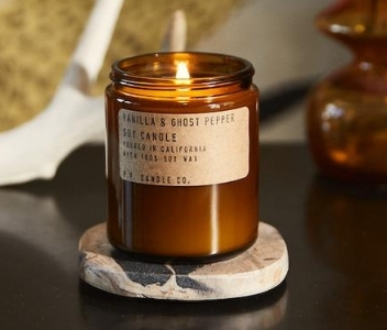 Vanilla & Ghost Pepper Candle – P.F. Candle Co.