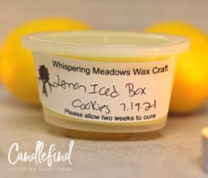 Whispering Meadows Lemon Iced Box Cookies Wax Melt