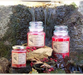 Springhouse Candles review, Candlefind.com, the site for candle lovers