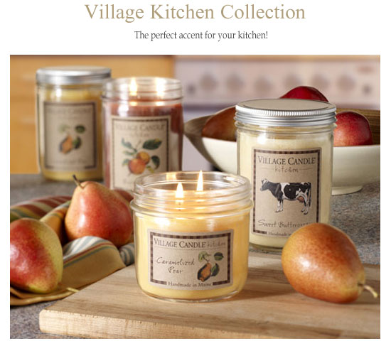 Amazing Village Candle Kitchen Collection Scented Candle Review, Candlefind.com,  The Site For Candle