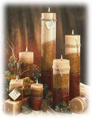 Wicks n More burning candles, Candlefind.com, the site for candle lovers
