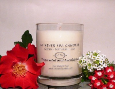 CT River Spa candle review, Candlefind.com, the site for candle lovers