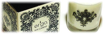 Ergo Enlighten Collection Candles, Candlefind.com, the site for candle lovers