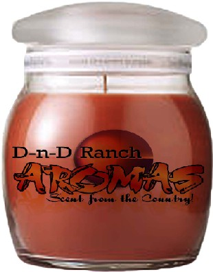 DnD Ranch Aroma's scented candle review, Candlefind.com, the site for candle lovers