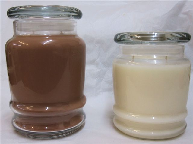 Cascade Jars from Friendly Fumes, Candlefind.com, the site for candle lovers
