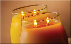 Blush candles, Candlefind.com, the site for candle lovers