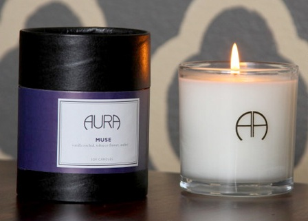"A ""Cosmic"" Scented Candle review from Aura Candles"