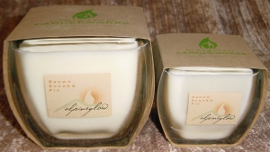 Alpine Glow class container candles