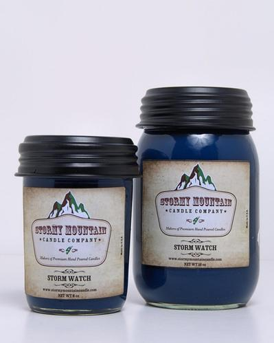 Stormy Mountain Candle Co scented candle review