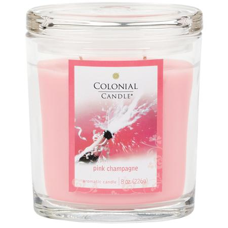 Colonial Candle Pink Champagne Scented Candle Review