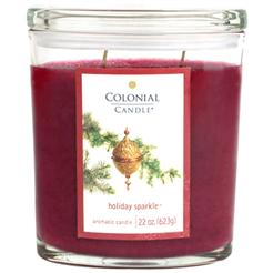 Colonial Candles Christmas scented candle review, Candlefind.com, the site for candle lovers