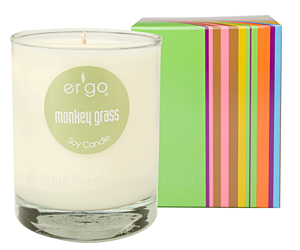 Ergo Spectrum Collection candle review, Candlefind.com, the site for candle lovers