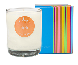 Ergo luxury candles, Spectrum collection candle review, Candlefind.com, the site for candle lovers
