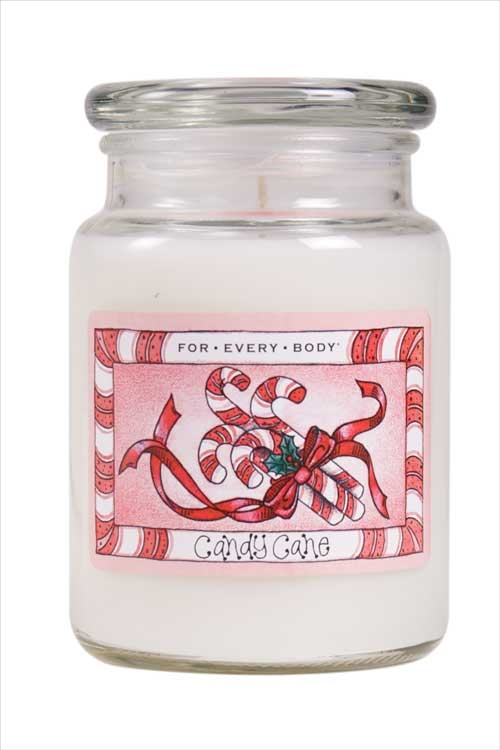 For Every Body Candle review, Candy Cane candle from For Every Body, Candlefind.com, the site for candle lovers