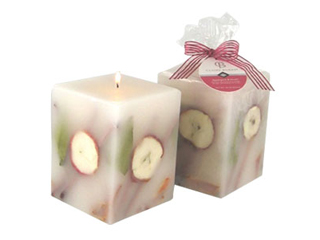 Claire Burke Pillar Scented Candle