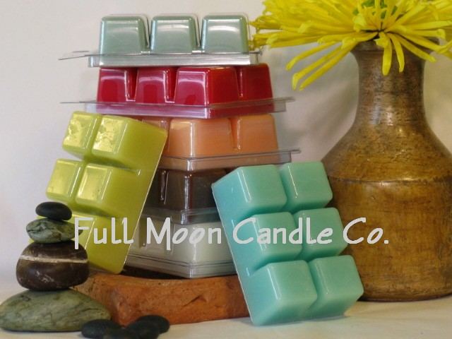 Full Moon Candles melts, Candlefind.com, the site for candle lovers