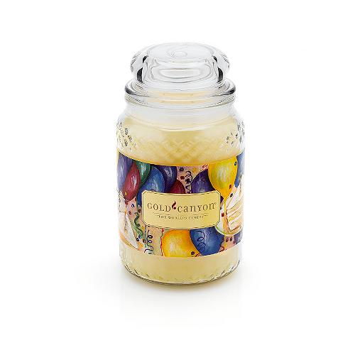 Birthday Cake Scented Candle From Gold Canyon Candles