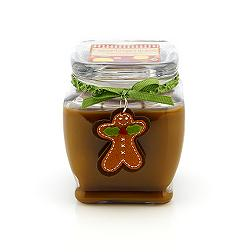 Gingerbread House, Homespun Holiday Candle from Gold Canyon Candles