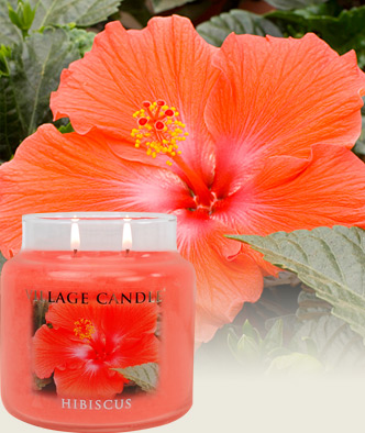Village Candle Hibiscus scented candle review