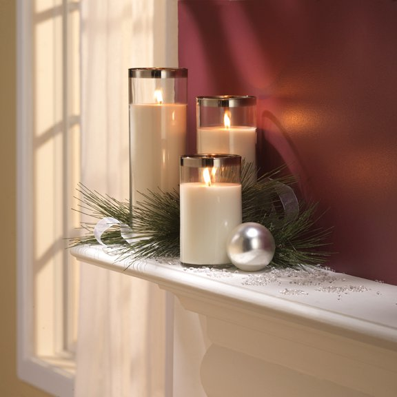Village Candle Decor Glass Pillars review