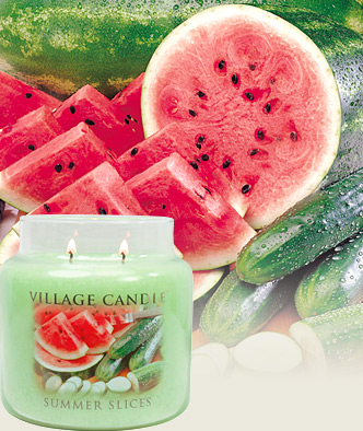Village Candles Summer Slices scented candle review