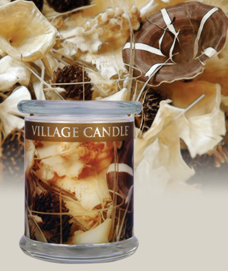 Village Candle Radiance Wood Wick collection candles