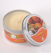 Way Out Wax Orange Scented Aromatherapy Candle