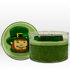 Leprechaun candle from Mia Bella Candles