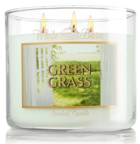 White Barn Candles Green Grass from Bath & Body Works