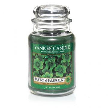 Lucky Shamrock from Yankee Candles