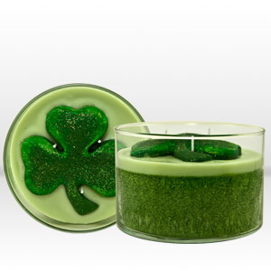 Shamrock Scented Candles from Mia Bella