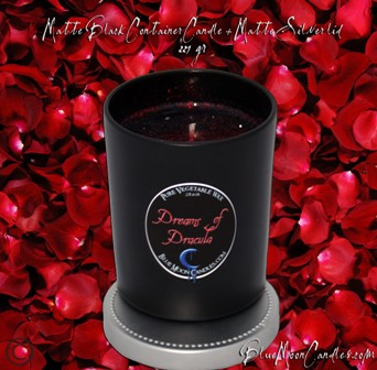 Matte Black Container Candle from Bluemoon