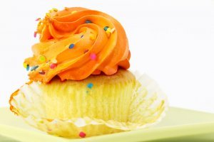 Better Homes and Garden - Orange Buttercream Cupcake