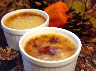Pumpkin Cream Brulee from Tomslitehouse