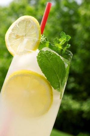 Glass of Lemonade, White Barn Candle, Fresh Lemonade