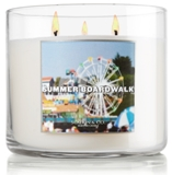 Review of a Summer Boardwalk scented candle from Bath & Body Works