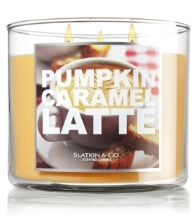 Pumpkin Caramel Latte - Bath & Body Works