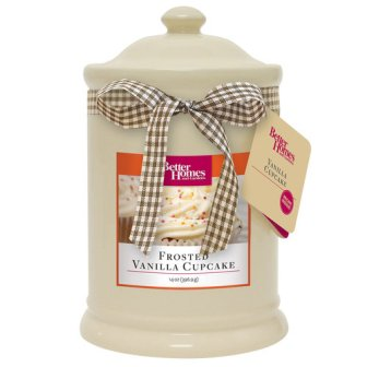 Better Homes & Garden Frosted Vanilla Cupcake Candle