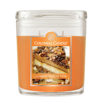 Colonial Candle Pumpkin Coconut Torte