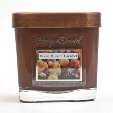 Harry & David Moose Munch Caramel candle review