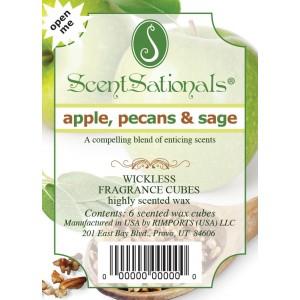 Apples, Pecans & Sage - ScentSational's melt review