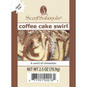 Coffee Cake Swirl - ScentSational's Melt Review