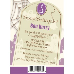 Boo Berry scented melts
