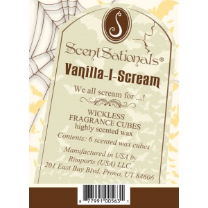 Vanilla-I-Scream scented melt