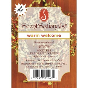 Warm Welcome - Scentsationals Wickless Candles