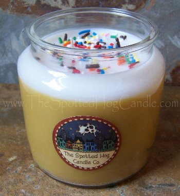 Birthday Cake from Spotted Hog Candles