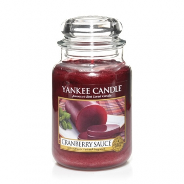 Yankee Cranberry Sauce scented candle review