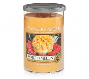 Yankee Candle Waikiki Melon scented candle review