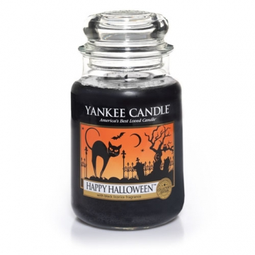 Yankee Candle Happy Halloween scented candle review